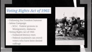 Online Presentation: Civil Rights Movement Part Ii