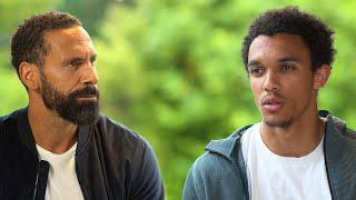 Trent Alexander-Arnold discusses in-depth with Rio Ferdinand the vital Black Lives Matter movement