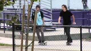 Cory Kennedy shows up to the North Hollywood Park for a little surprise.