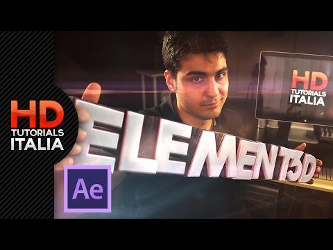 Tutorial Element 3D Avanzato ITA - Creare un logo Animato