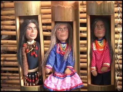 Ahuano Warmi emprendimiento de mujeres Kichwa muñecas amazónicas patrimoniales