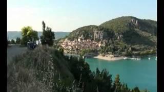 Présentation camping Le Lac (83 630 Bauduen).avi