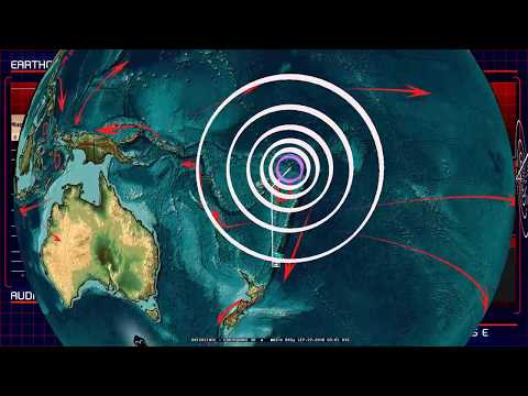 9/22/2018 -- Earthquake activity deep below Pacific plate -- New deep quakes = New unrest likely