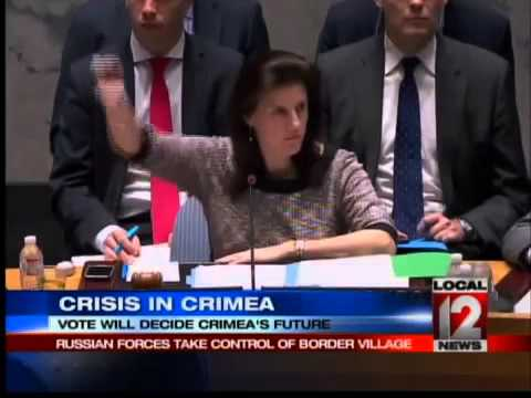 Western countries fight against illegal Russian vote over the state of Crimea