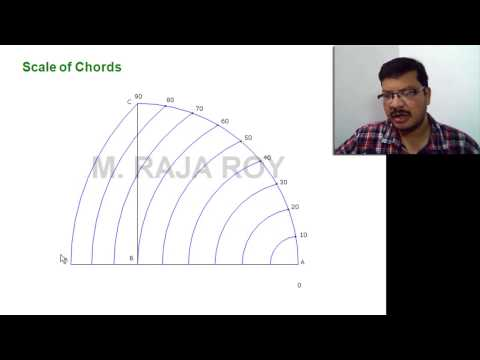 Engineering Drawing Made Easy - Scale of Chords
