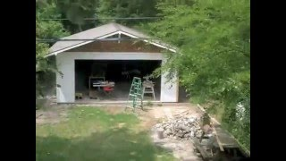Building My Garage - Timelapse 2 Of 2