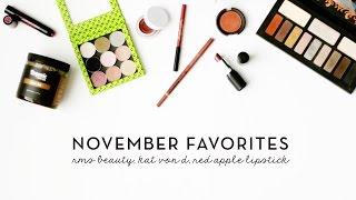 November 2014 Favorites | Soap & Glory, RMS Beauty, & SheaMoisture