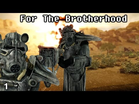 New Vegas Mods: For The Brotherhood - Part 1