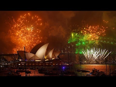 World gets first taste of 2018 as Asia, Oceania ring in the new year