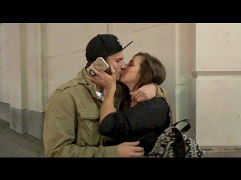 THEY HAD TO KISS!!   David Dobrik