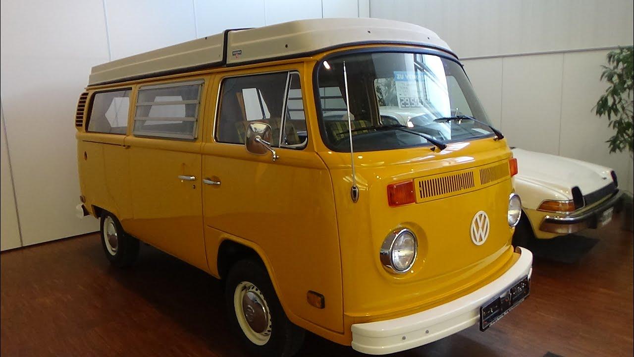 1976 volkswagen t2 westfalia technorama ulm 2016 youtube
