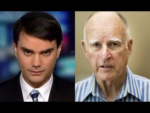 EPIC: Ben Shapiro totally WRECKS Governor Jerry Brown to SHREDS