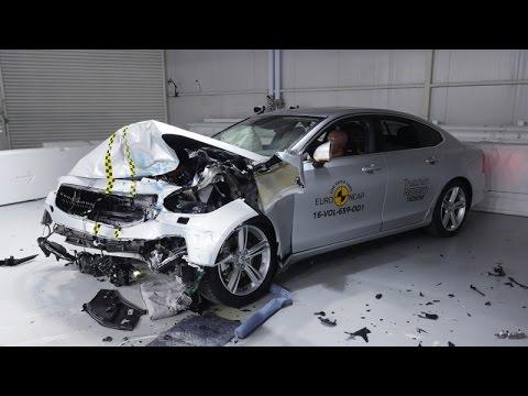 Volvo S90 - Volvo V90 - Crash Test Euro NCAP