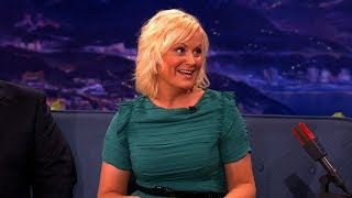 Amy Poehler Interview Part 02 - Conan on TBS