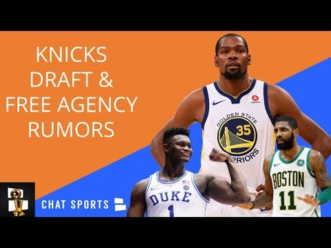 Knicks Rumors Durant Free Agency Sweepstakes Zion Williamson 2019