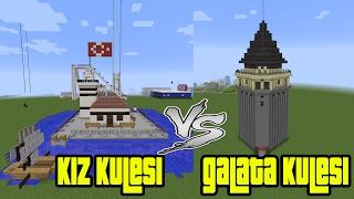 Kız Kulesi vs Galata Kulesi Yaptık !!! - Modern Evler Kapışması