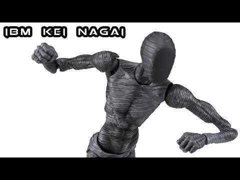Super Action Statue IBM Kei Nagai / Sato Figure Review