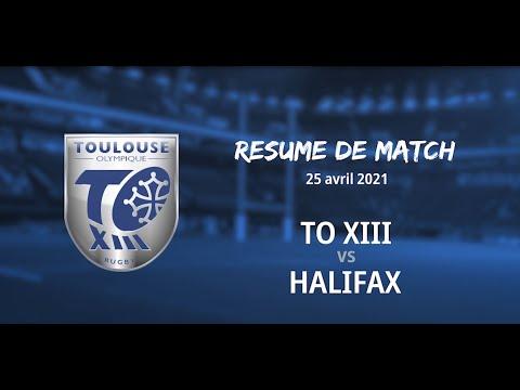 Résumé Halifax Panthers v TO XIII - Round 3 Championship - 25.04.2021