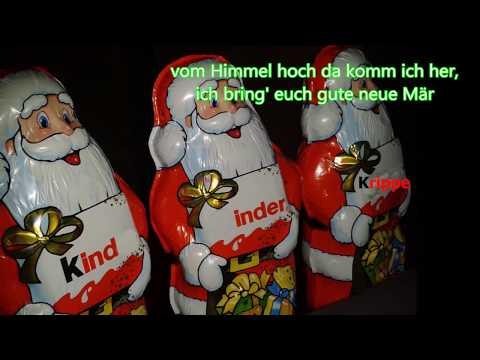 Lustige Weihnachtslieder Texte.Lustiges Weihnachtslied Fur Eilige Menschen Weihnachten 2017 Auf Deutsch Ohne Rolf Zuckowski