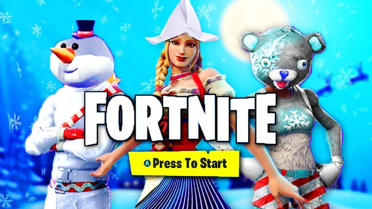 New Season 7 Battlepass Leaks Fortnite Christmas Event 2018