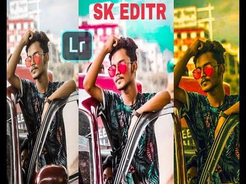 SKEDITR. Editing Tutorial _ Lightro HD Photo Editing Like Photoshop _ Alone Moody Photo editing 2019 thumbnail