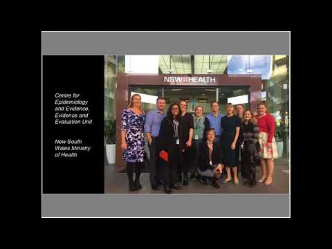 Experiences working with the New South Wales Ministry of Health