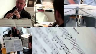 Lonarc Oboe Trio play  Adagio (3rd movt)  from Johann Wenth's Divertimento in Bbmaj