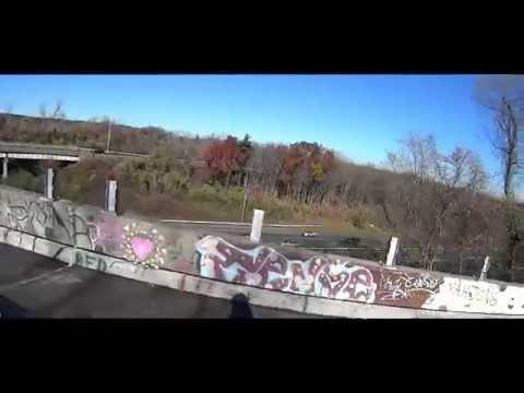 Abandoned Connecticut Highway Interchange