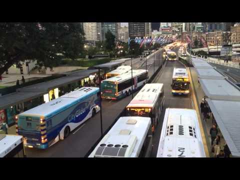Cultural centre bus station Brisbane