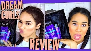 John Frieda Doesn't Get IT!! Dream Curls Frizz Ease Review - Curly Hair Products!!