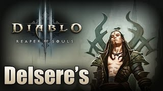 "Diablo 3 - Fun with an Arcane ""Bullet Hell"" Wizard with Delsere"