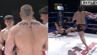 19 year old guy knocked out the thug! Sidelnikov punished his opponent for disrespect and show-off!