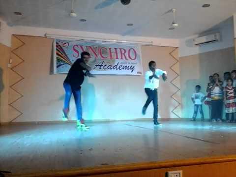 Synchro Academy Chandu&Kishan Dance preformance