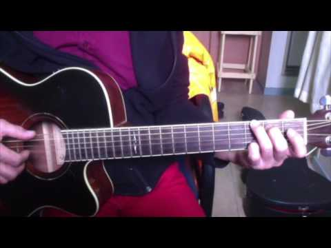 I always love you   Michael Johnson tutorial for solo guitar