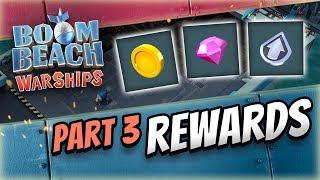 Boom Beach Warships: Rewards Break Down!