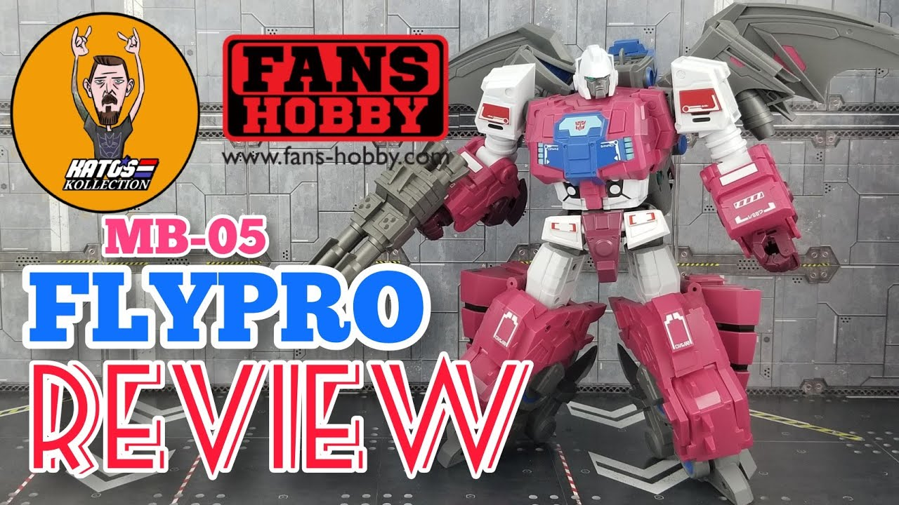 Fans Hobby MB-05 FLYPRO (GROTUSQUE) Review By Kato's Kollection