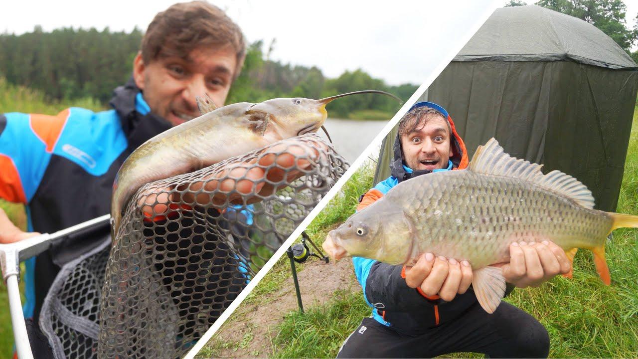 [VLOG] Rybařím v dešti! | Můj první Sumec v životě a zoufalé hledání Žížal!
