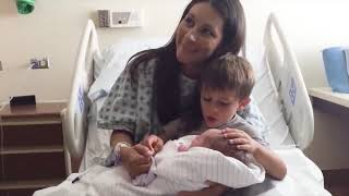 TOP 5 BEST FUNNY The First Time Cute Newborn Babies Meet Family - Lovers Baby Video