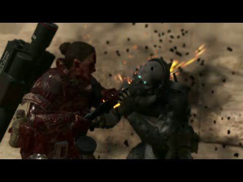 All special CQC moves against Parasite units in MGSV