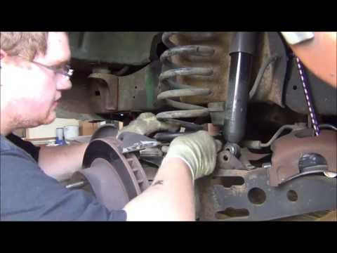 1982 Ford F150 Front Sway Bar Installation