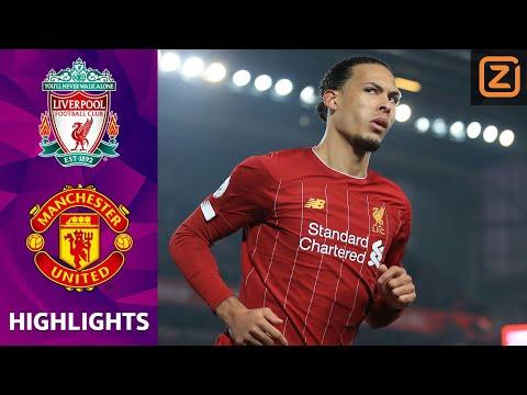 VAN DIJK BELANGRIJK in TOPPER 👏 | Liverpool vs Man United | Premier League 2019/20 | Samenvatting