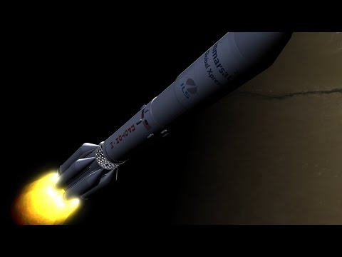 How do you launch a satellite?