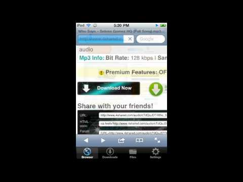 How To Get Free Music on iPod Touch