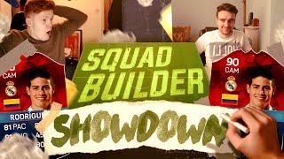squad builder showdown with imotm james rodriguez fifa 16 ultimate team