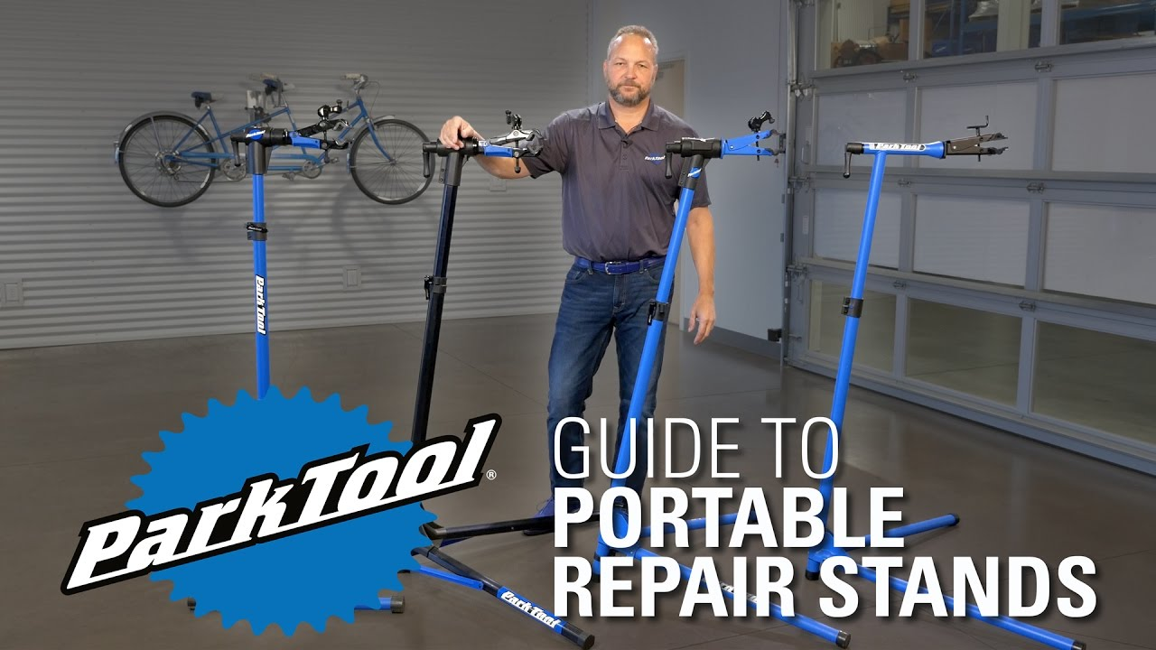 Park Tool Portable Repair Stand Comparison Youtube