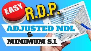 PADI RDP Made Easy! (Adjusted NDL and Minimum Surface Interval Calculations)