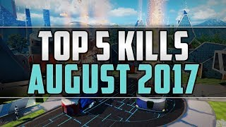 Call of Duty: Top 5 Kills of the Month ● 5 in 1 Collateral ● August 2017