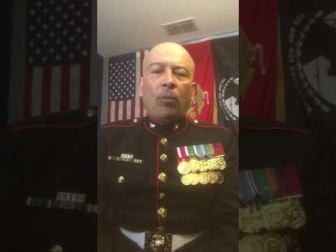 A US MARINE MARINE ON ILLEGAL IMMIGRATION