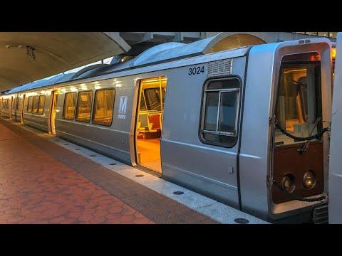 WMATA Metrorail Breda 3000 Series Railcars #3024-3025 In NEW Vinyl Wrap