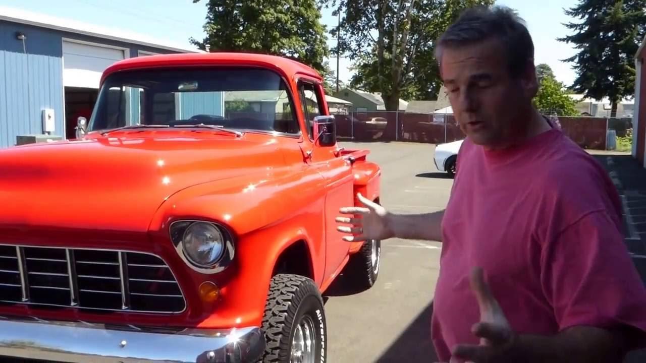 1956 Chevrolet 4 X 4 Pickup Truck \